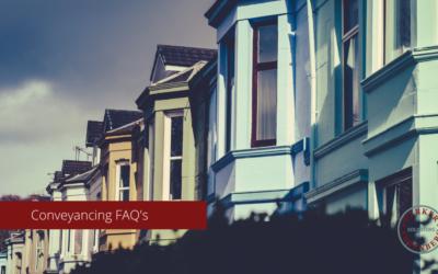 Conveyancing FAQs