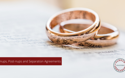 Pre-nups, Post-nups and Separation Agreements