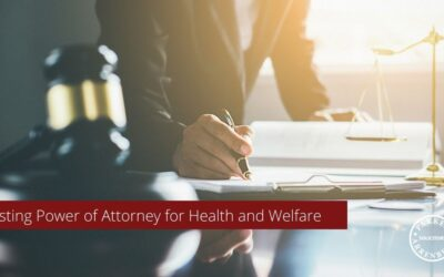 Lasting Power of Attorney for Health and Welfare